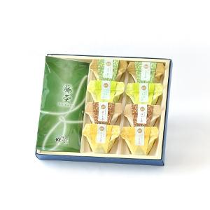 凛(りん)お茶葛餅(くずもち)と日本茶のセット