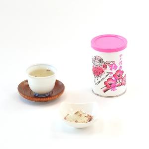お茶専門店の梅昆布茶